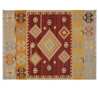 Dunham Kilim Indoor Outdoor Rug 8x10 Feet Outdoor Rugs