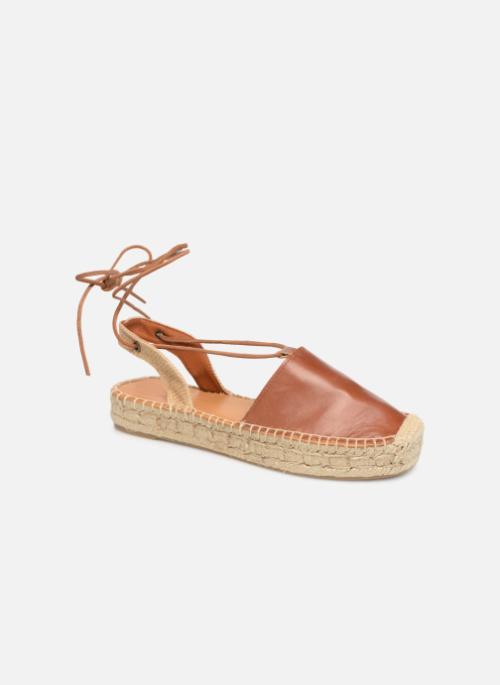 0862a25a08c Alohas Sandals Cristinas (Marron) - Sandales et nu-pieds chez Sarenza  (358842