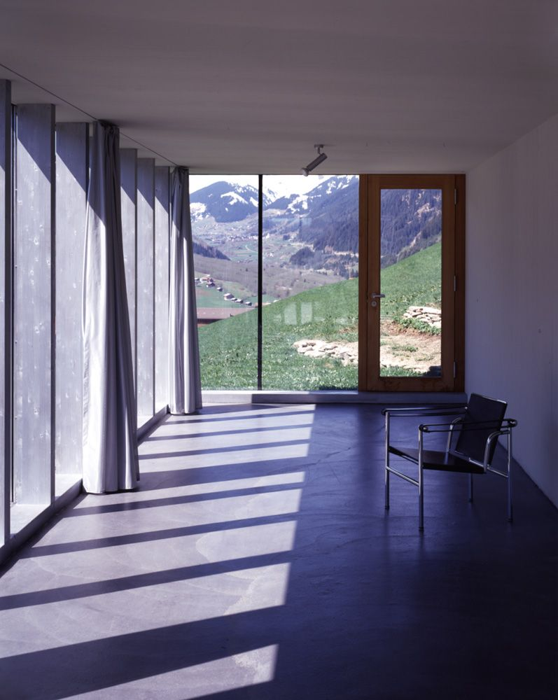 Wohnhaus Bearth Candinas Sumvitg Bauherrschaft Claudia Armon