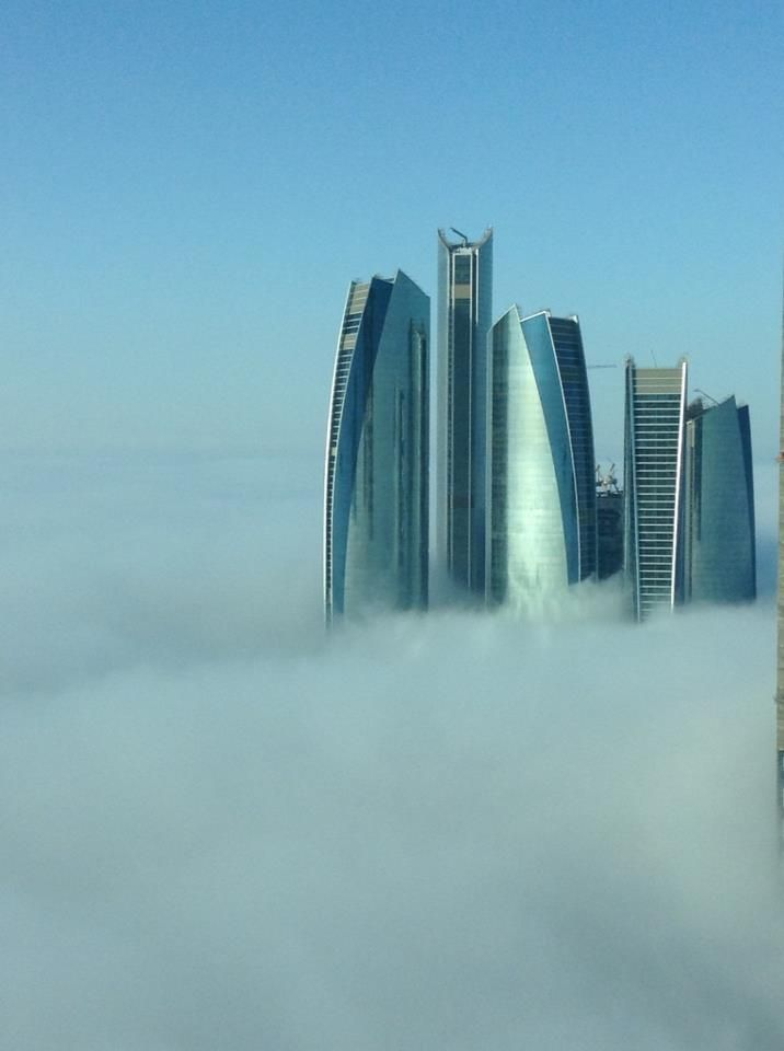 My View Of Khalidiya Abu Dhabi This Morning Met Afbeeldingen