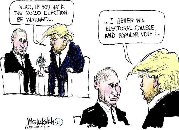 Image result for cartoons Trump held in the hands of Putin