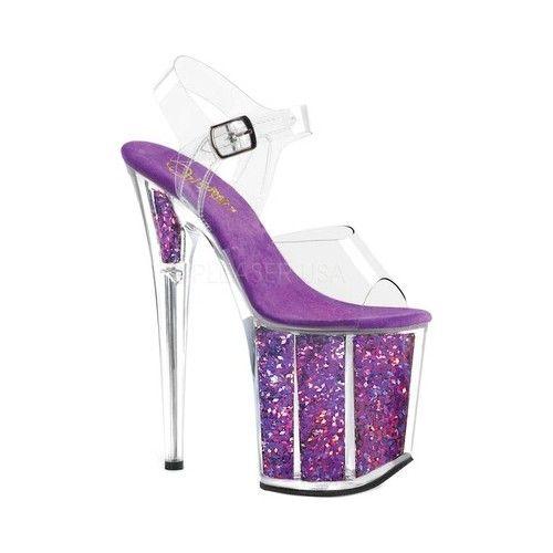 Women's Pleaser Flamingo 808GF Heeled Sandal Sandals