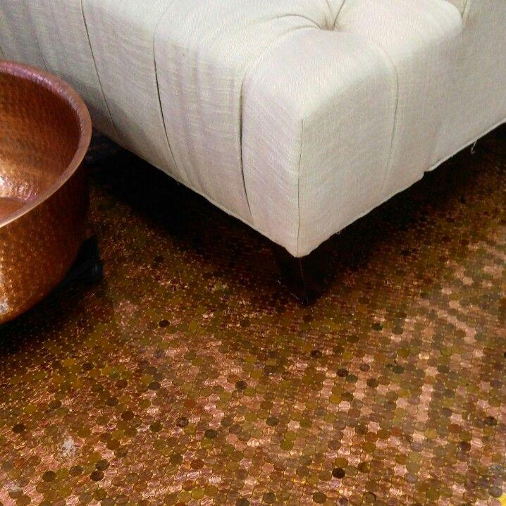Copper pedicure suite