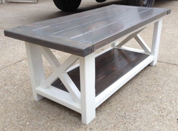 Rustic X Coffee Table Do It Yourself Home Projects From