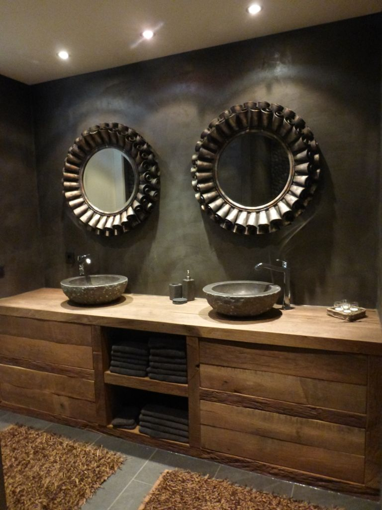 Badkamer/badkamermeubel eiken.JPG | Badkamer Roermond | Pinterest ...