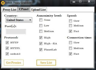 HMA Proxy Grabber 2 0 Download HMA Proxy Grabber 2 0  An