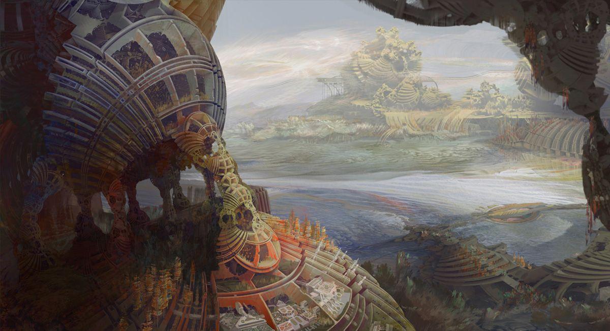Kirsten Zirngibl Art, Fantasy artwork, Science fiction art