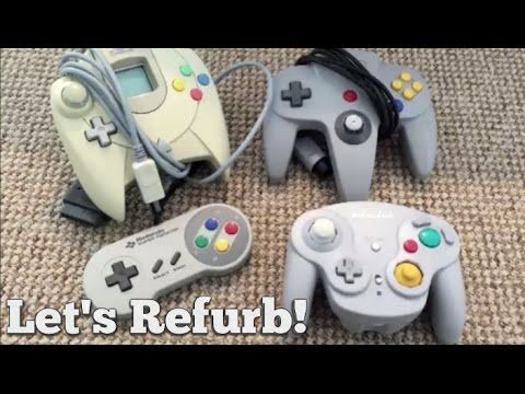 How to Clean And Refurbish a Retro Controller!