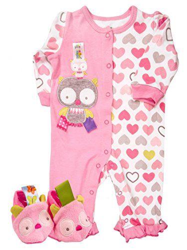 Taggies Baby Girl Owl Print Romper and Slippers (6 months... https://www.amazon.com/dp/B01BJYFSBG/ref=cm_sw_r_pi_dp_x_3VU8xb83PFKYB