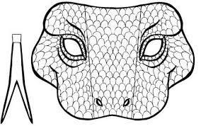 Resultado De Imagem Para Mascara De Cobra Para Imprimir Alfabeto
