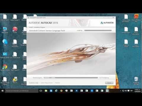 Descargar Autocad 2016 32 64 Bits Gratis Mega Inglés Bien Explicado Youtube Autocad Autocad 2016 Autodesk