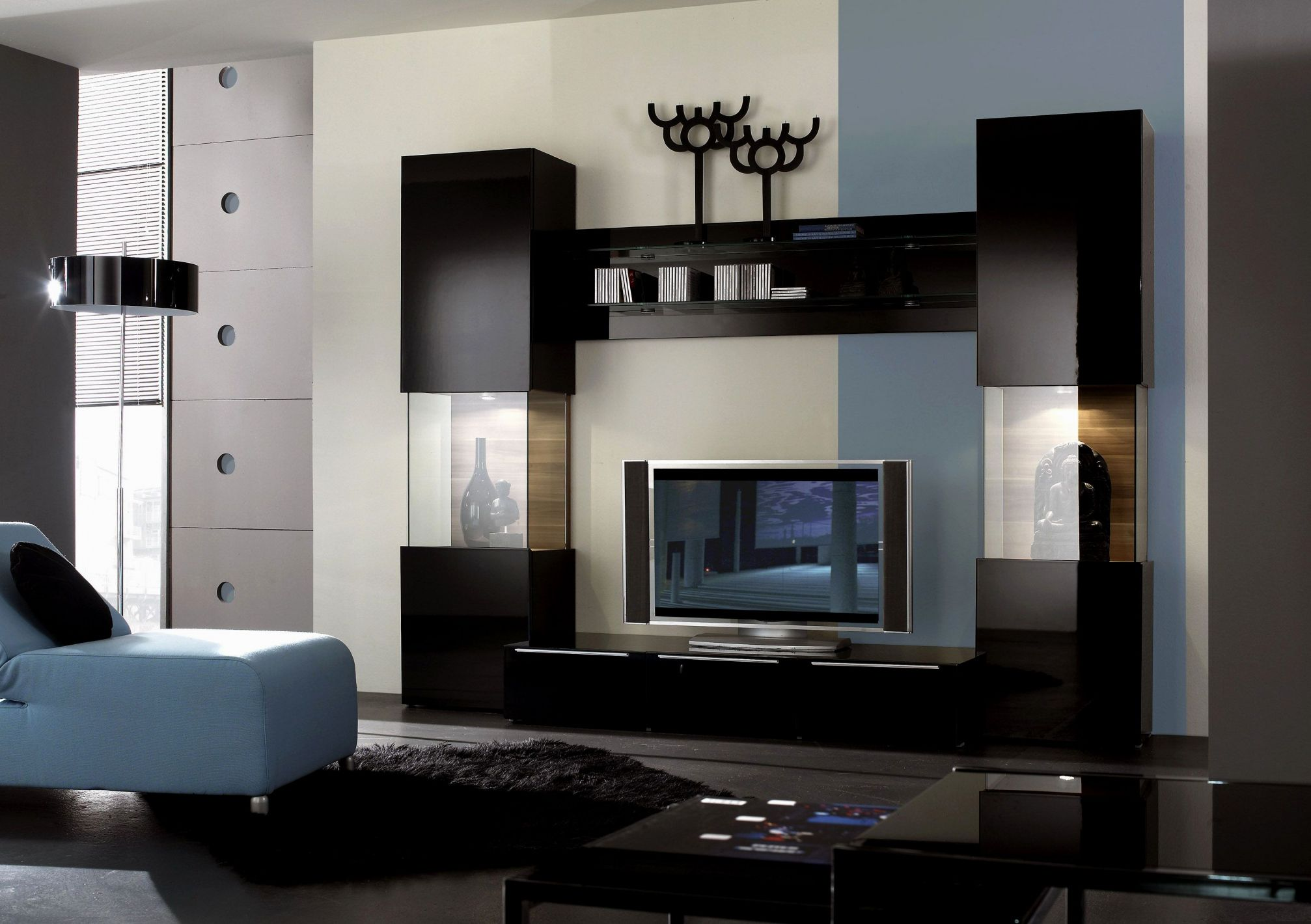 100 Wall Unit Designs for Small Living