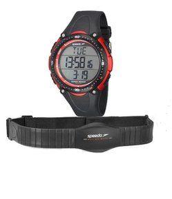 f232985ff45 Kit Relógio Masculino Speedo 81091G0EGNP2KB Digital 5 ATM + Monitor Cardíaco