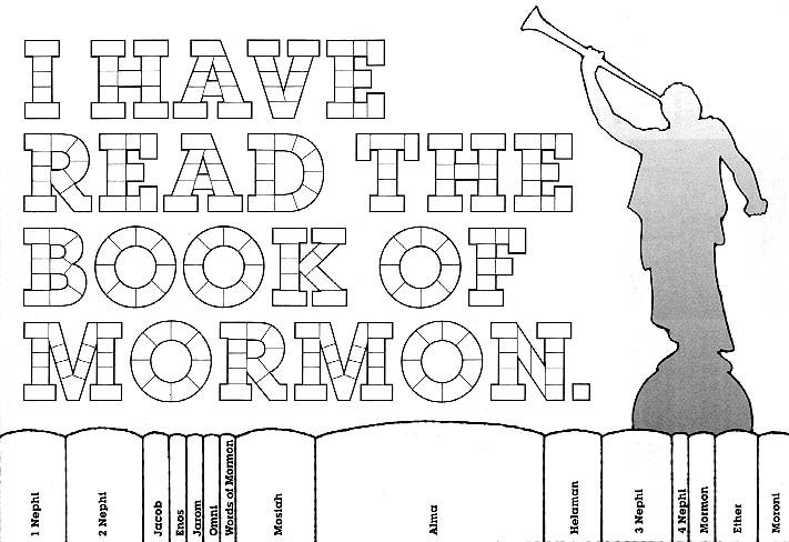 Book Of Mormon Coloring Pictures