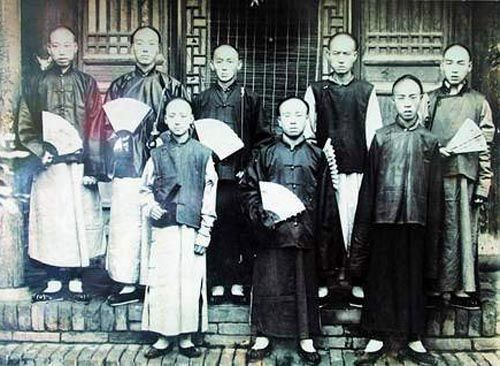 Men S Fashion In The Qing Dynasty Chinese Clothing