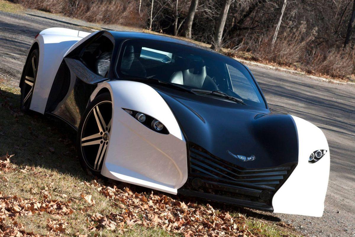Tomahawk Concept Supercar Electric sports car, Concept