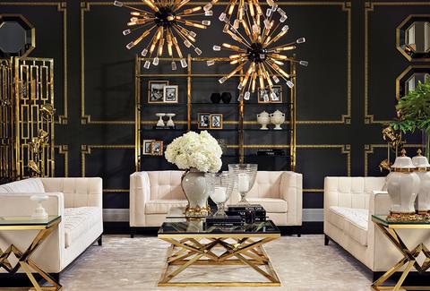 Worlds Away Eichholtz In Australia Gold Living Room Luxury Living Room Living Decor