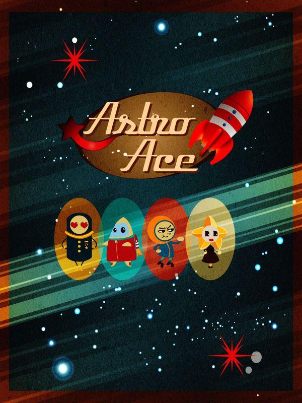 Astro Ace by Grace Lee, via Behance