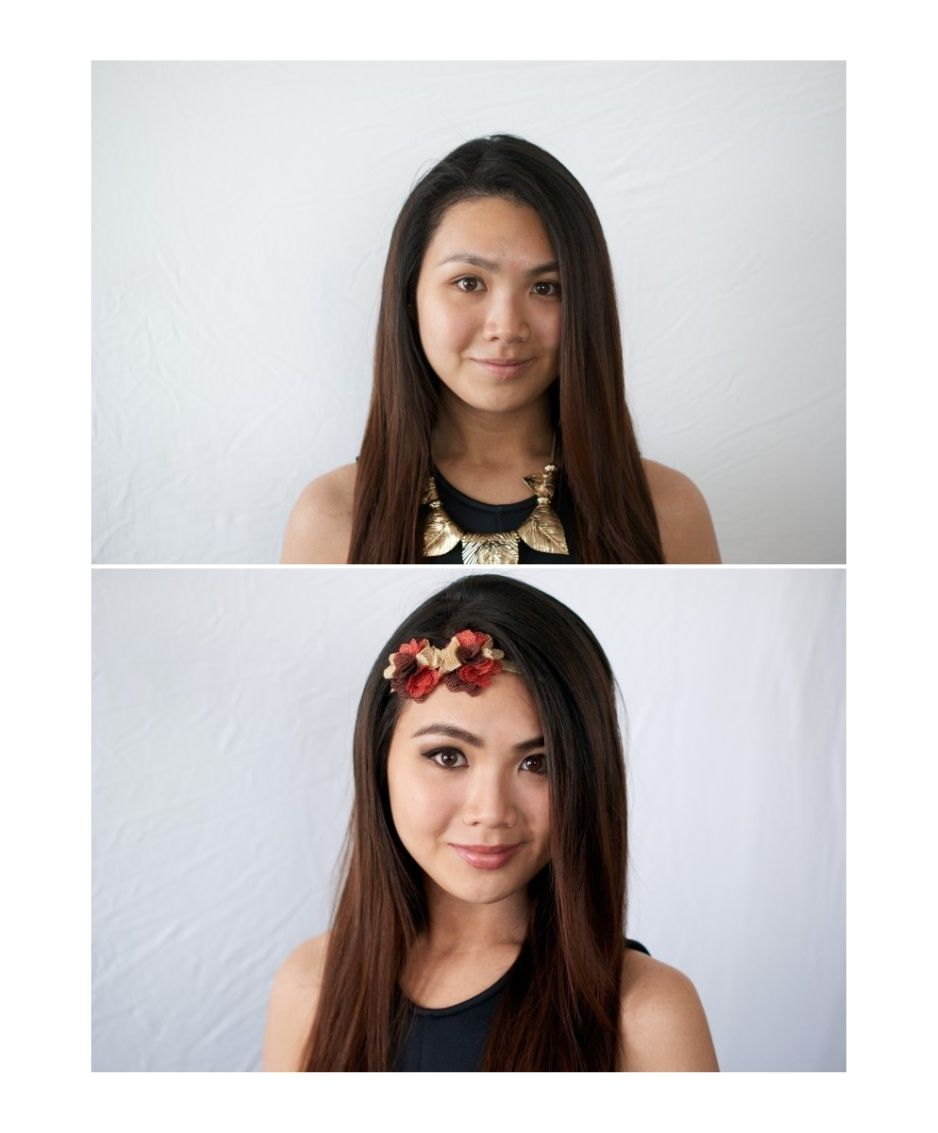Before and after Makeup Hairstyle Makeover makeup artist hairstyle ...