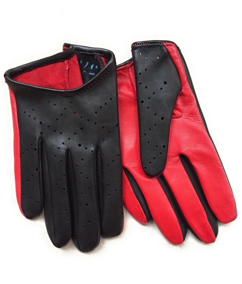 a0584b0191242 Leather gloves for ladies, hot seasons driving gloves glamour style ...
