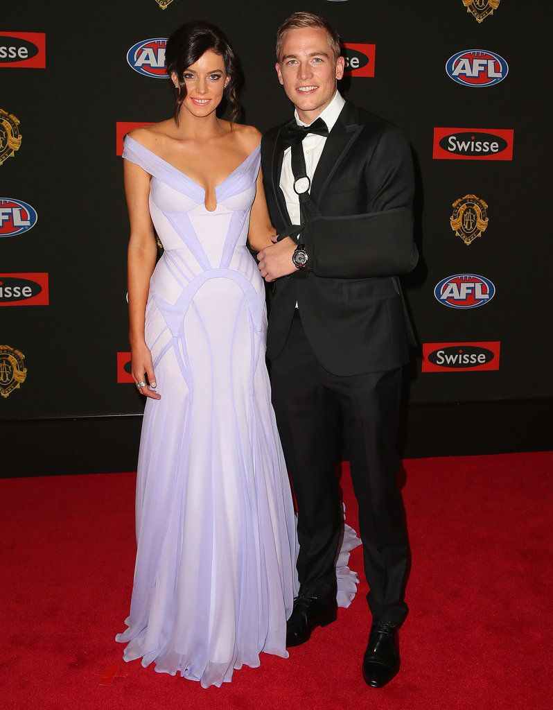 AFL Date Night! Hot Footy Couples Glam Up For the Brownlow Medal | + ...