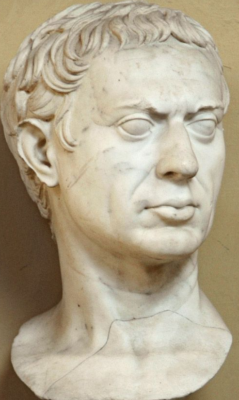 Man Sulla Roman Bust Marble 1st Century Bc 1st Century Ad Musei Vaticani Vatican City Roman Art Roman Sculpture Ancient Statues