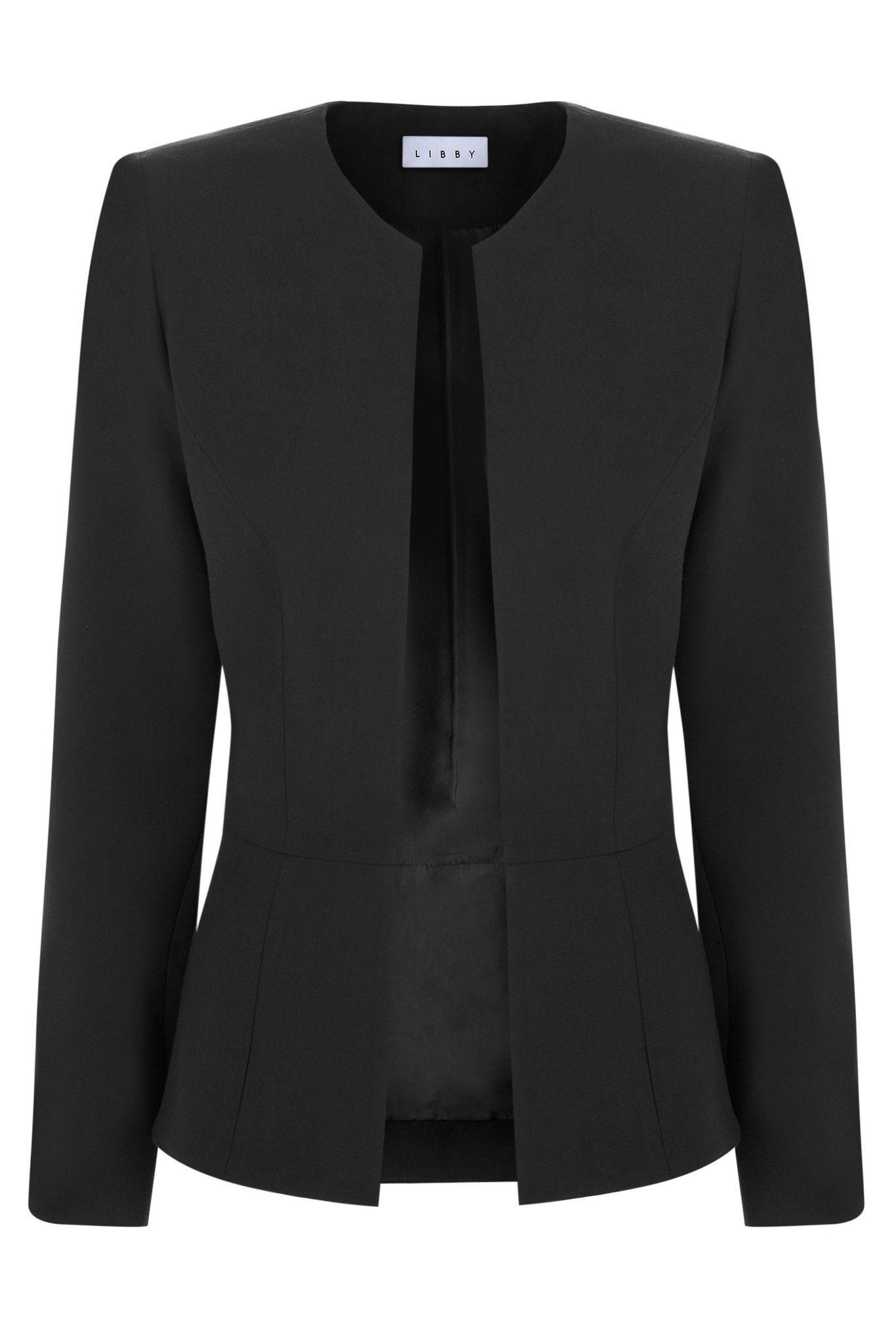 9611e7f08 Burlington Black | Blazers | Libby london, Jackets, Black