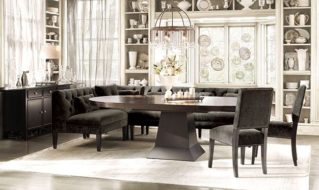 leighton mocha dining table at arhaus dining room pinterest. Black Bedroom Furniture Sets. Home Design Ideas