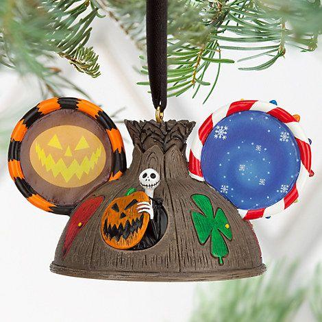 Tim Burton\u0027s The Nightmare Before Christmas Ear Hat Ornament Ear hats - the nightmare before christmas decorations