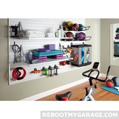 using the gladiator as an attractive gym equipment storage on garage organization ideas that will save you space keeping things simple id=81725