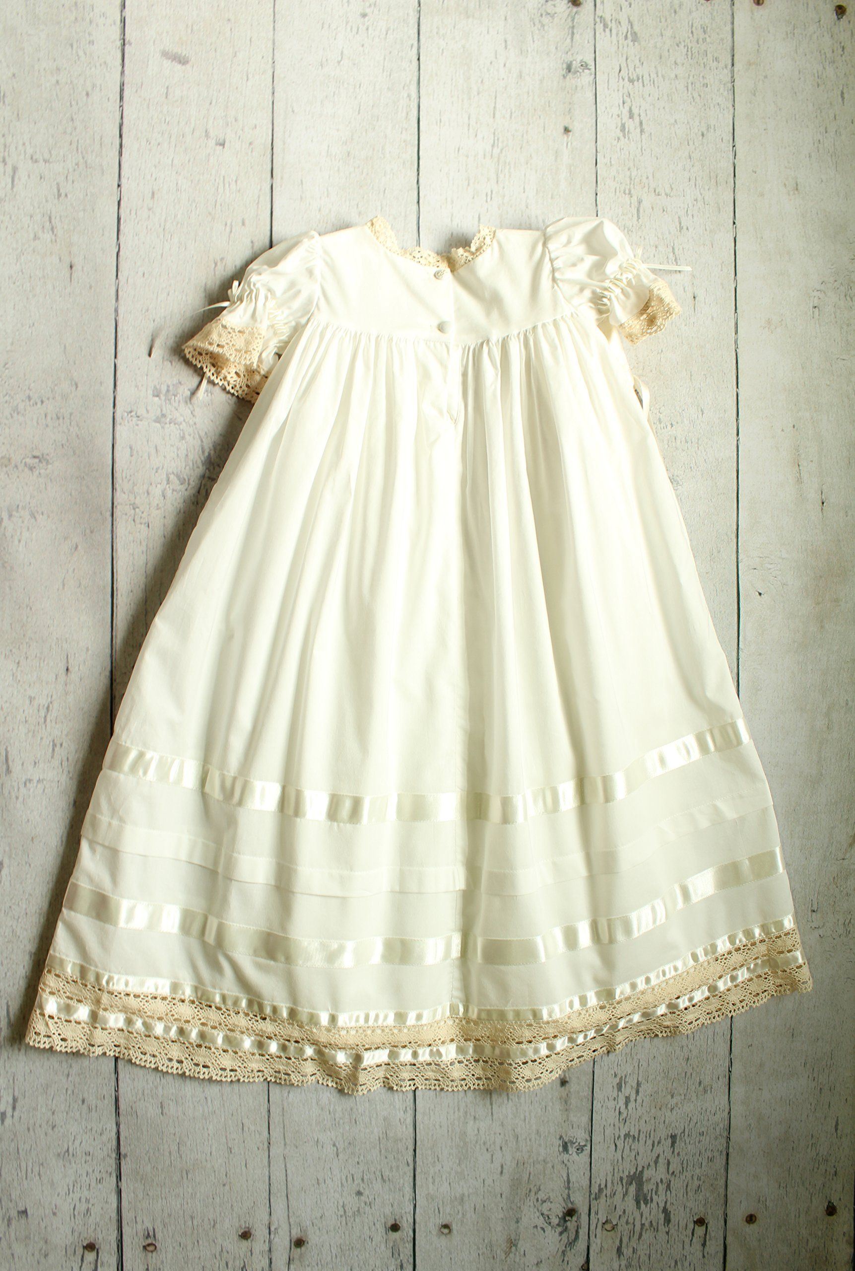 101e7a52ecc0 Strasburg Children Babies Lace Christening Gown Heirloom Baptism Dress  w/Bonnet 6 Month White *** Be certain to take a look at this outstanding  product.