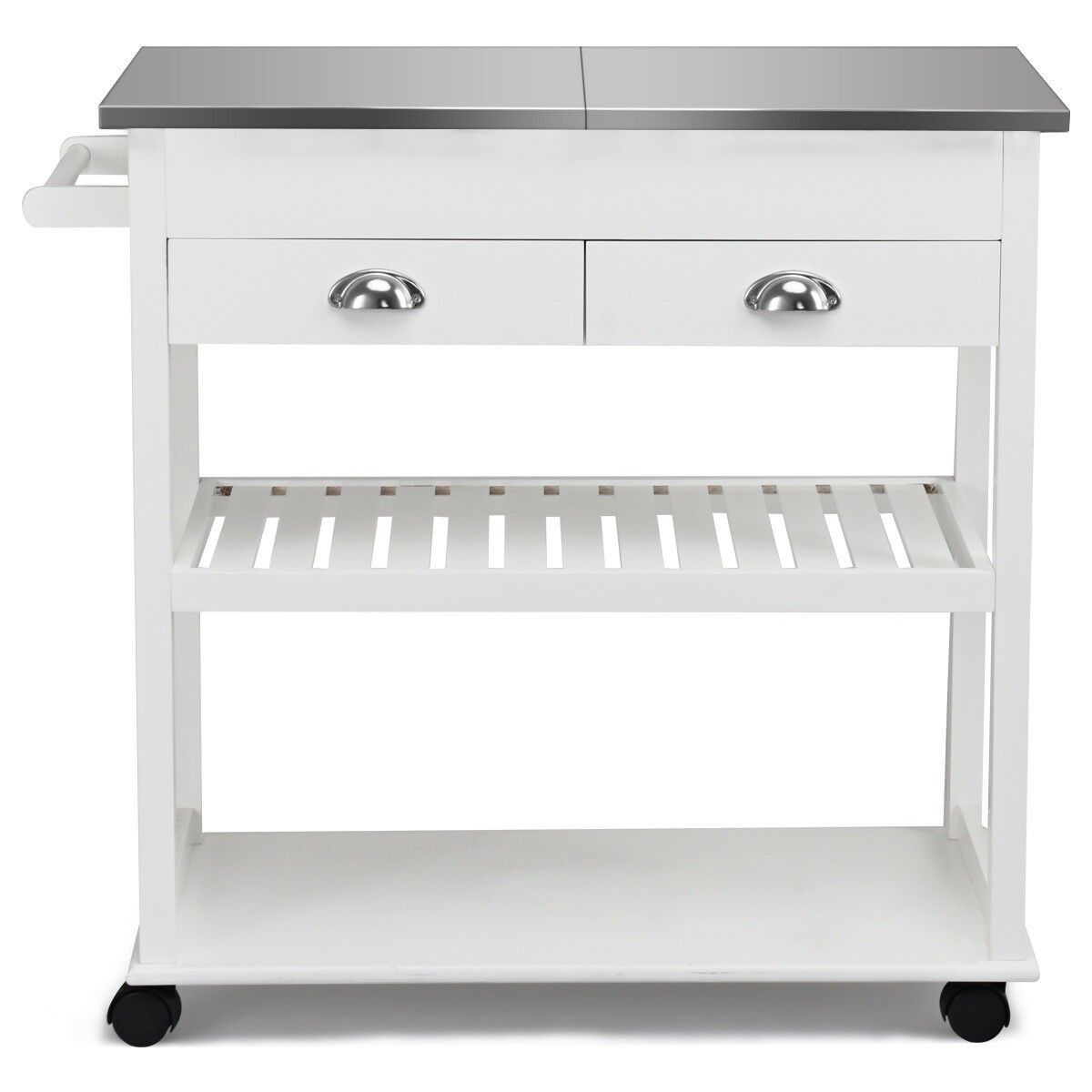 Stainless Steel Mobile Kitchen Trolley Cart With Drawers Casters Material Stainless Top Mdf Frame Kitchen Roll Rolling Kitchen Cart Rolling Kitchen Island