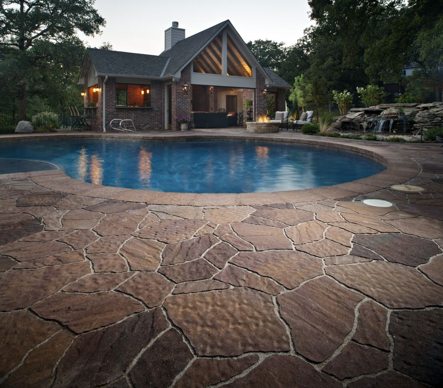 Belgard Mega Arbel Pool Deck YORKTOWN MATERIALS PINTEREST INSPIRATION  Mega Arbel® Patio Slab Gives Homeowners The Perfectly Integrated,  Natural Looking ...