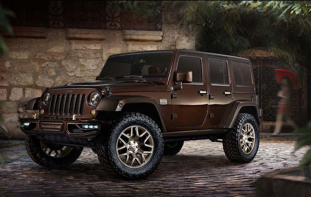 Jeep Wrangler Sundancer Design Concept