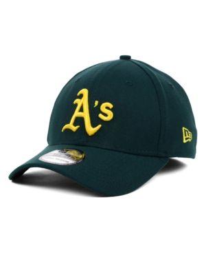 68cf70d888d New Era Oakland Athletics Mlb Team Classic 39THIRTY Stretch-Fitted Cap -  Green