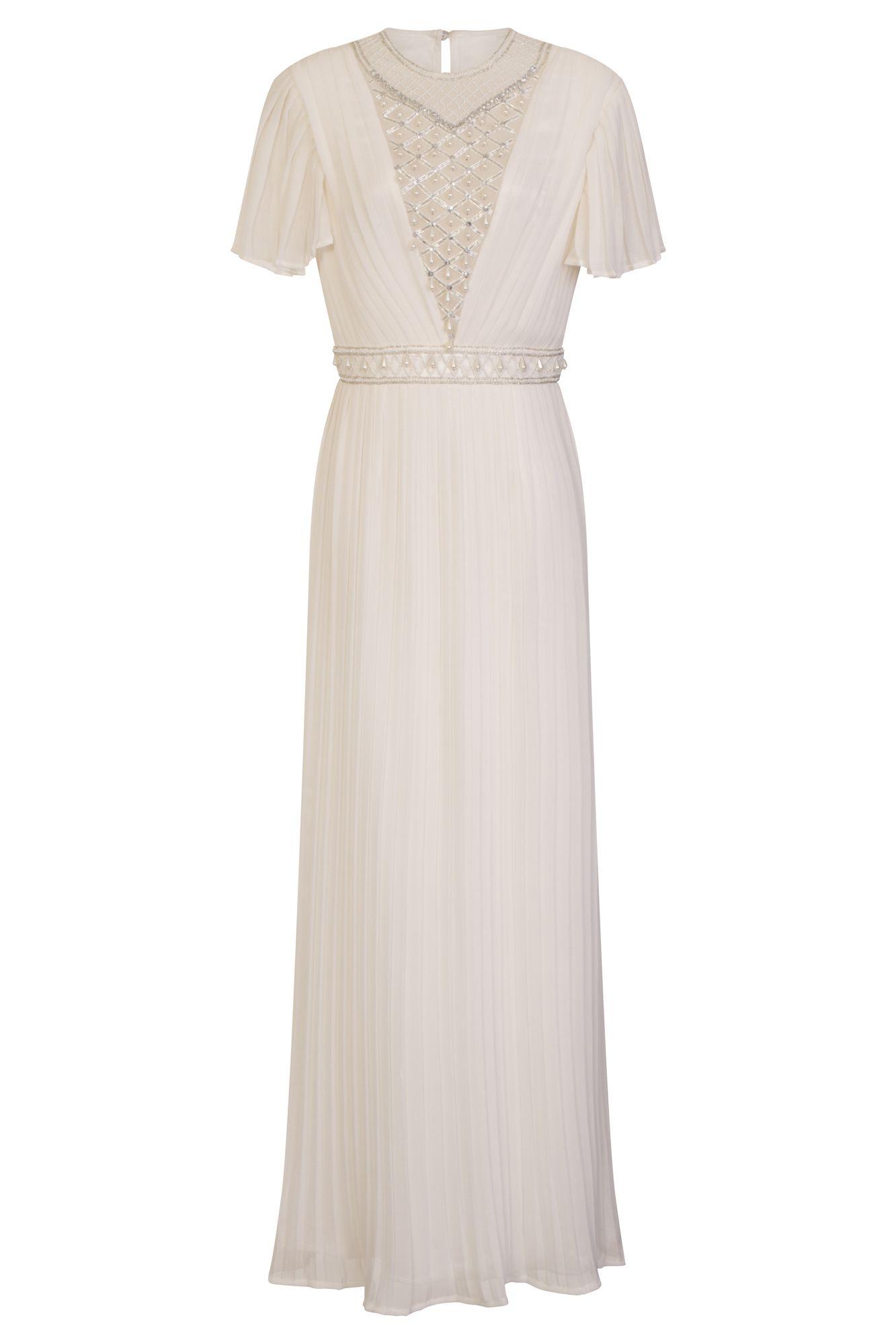 a32a30b0b56 Frock and Frill Ella Pleated Maxi Dress