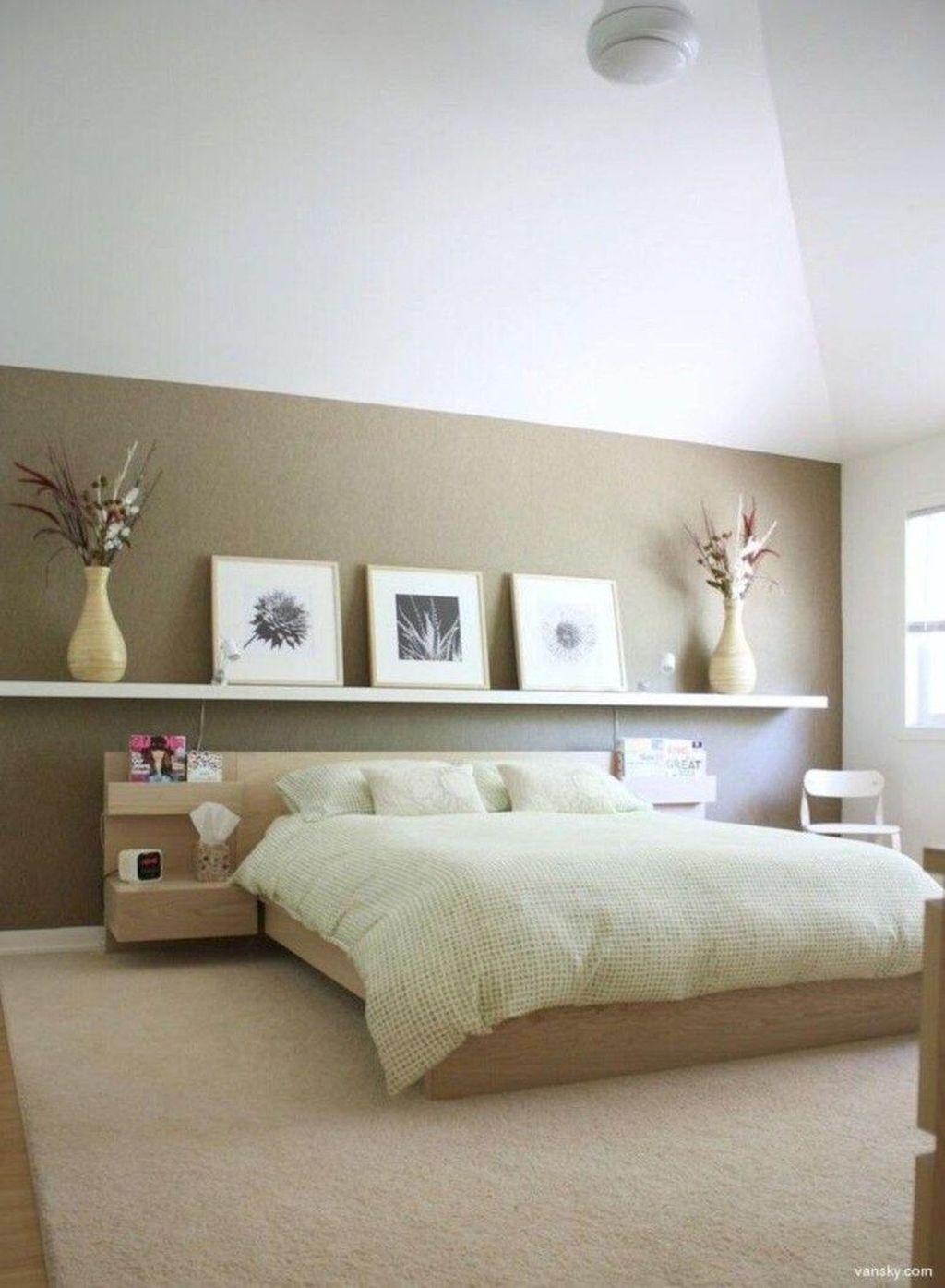 Minimalist Rustic Bedroom