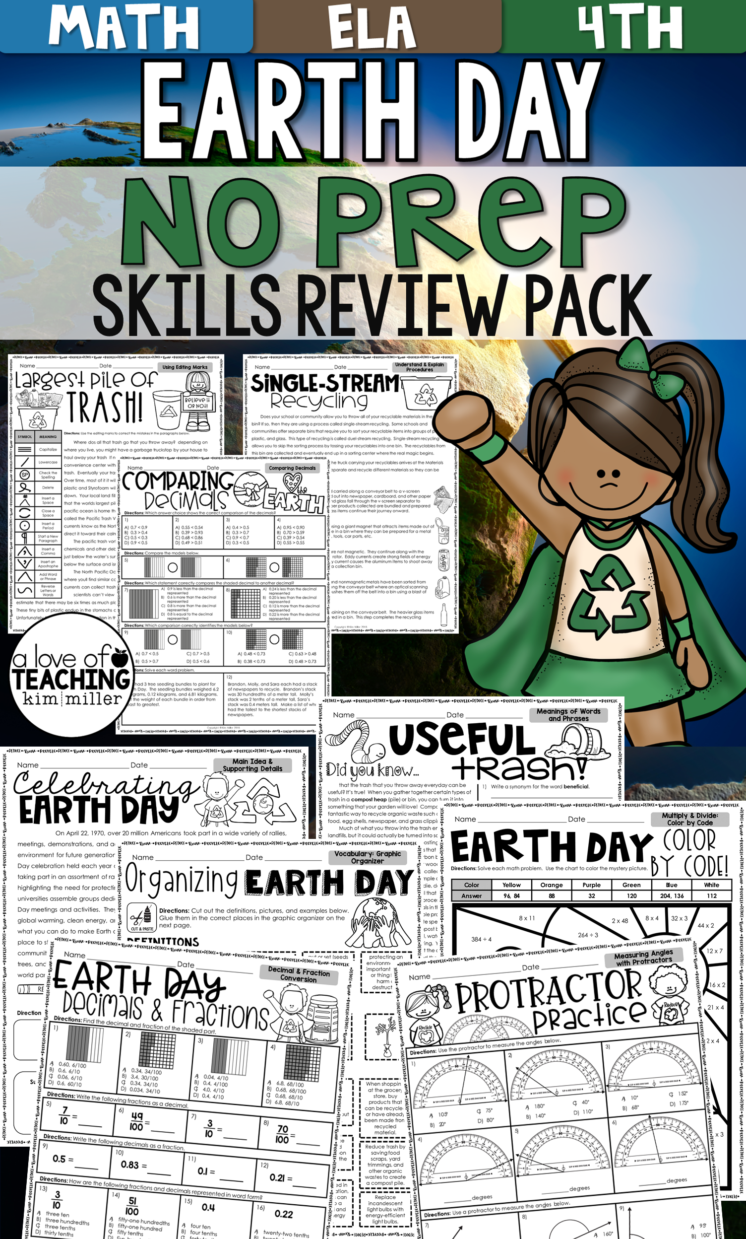 Earth Day Activities for 4th Grade [ 2496 x 1504 Pixel ]