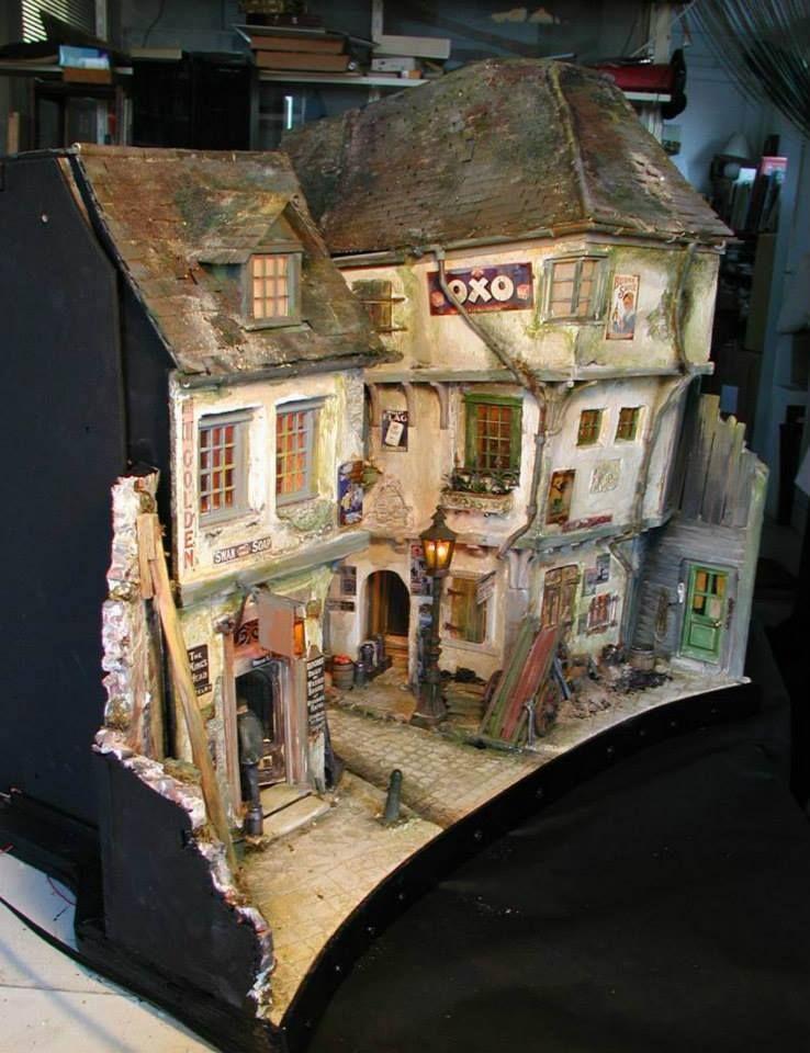 Cool This Street Scene Is Incredible David Sculpher Miniatures Download Free Architecture Designs Scobabritishbridgeorg