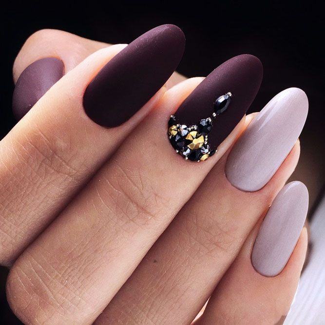 30 Ideas with Long Nails for Different Shapes | Feminine, Elegant ...
