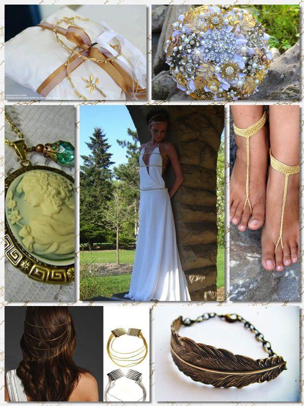 Grecian Inspired Wedding Theme Httpsetsytreasury