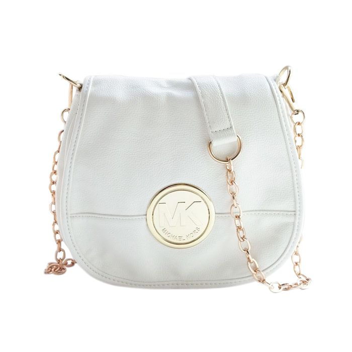 michael kors white crossbody bag