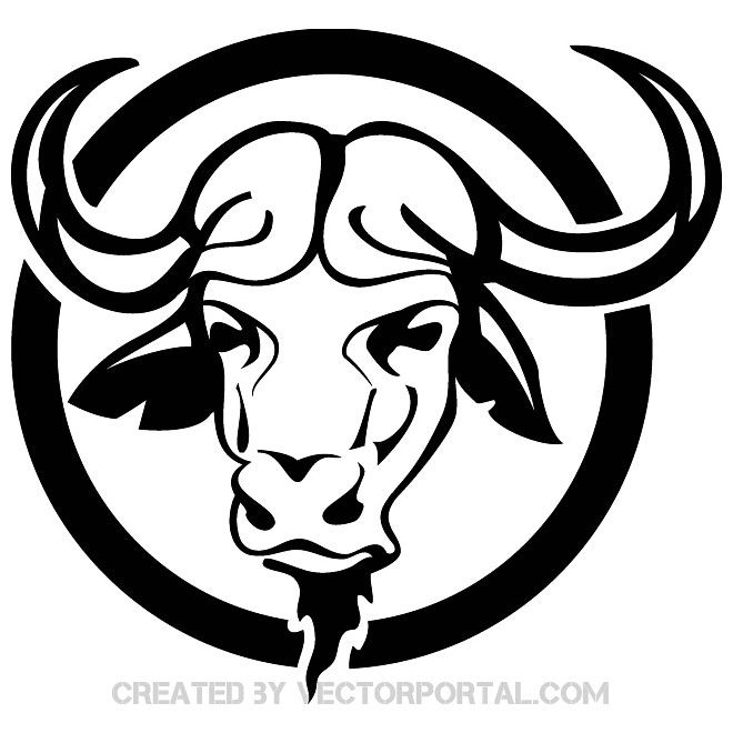 Buffalo Head Free Image Free Vector Vector Free Vector Free Vector Art