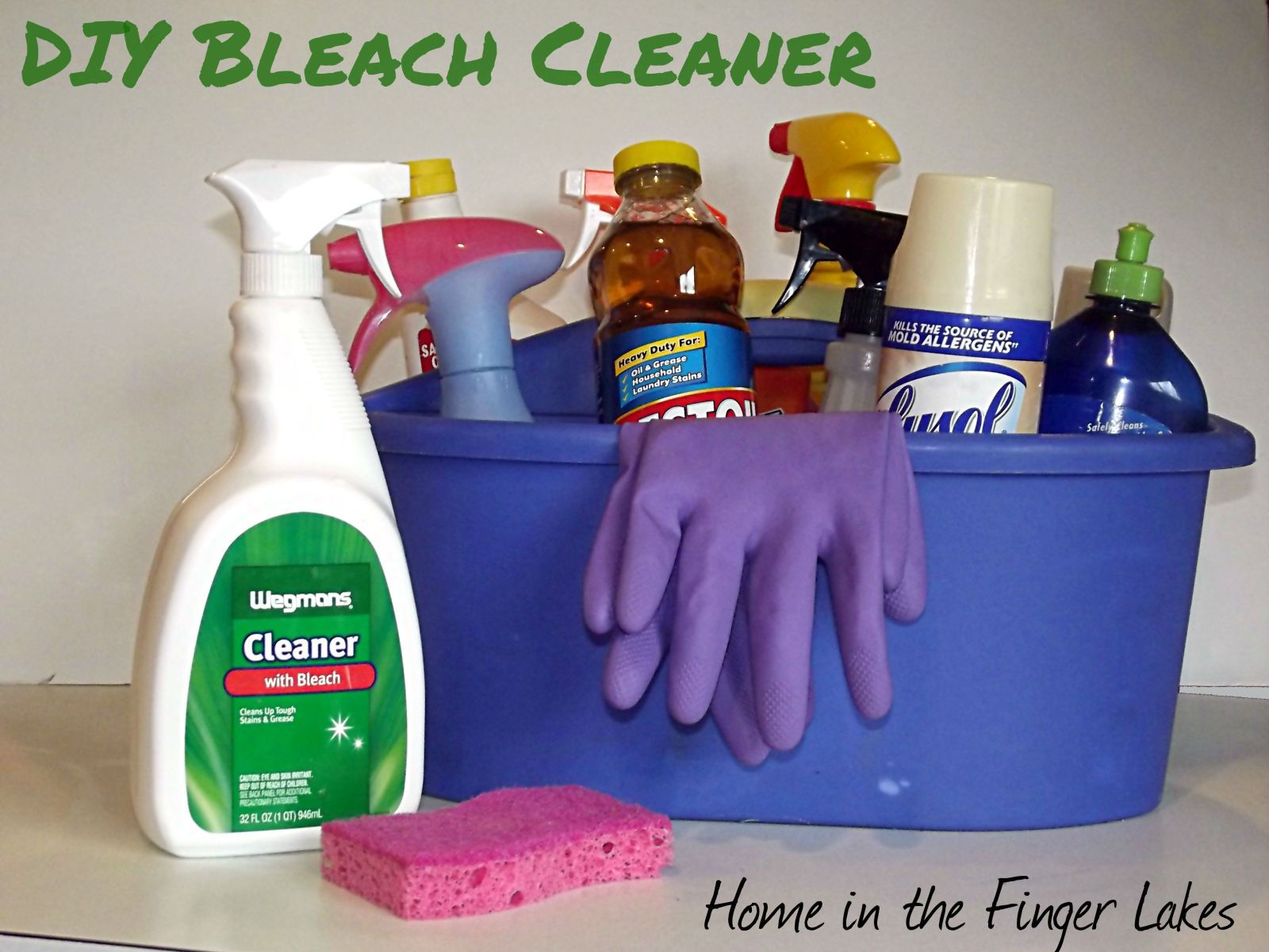 DIY Bleach Cleaning Spray Cleaning with bleach, Cleaning