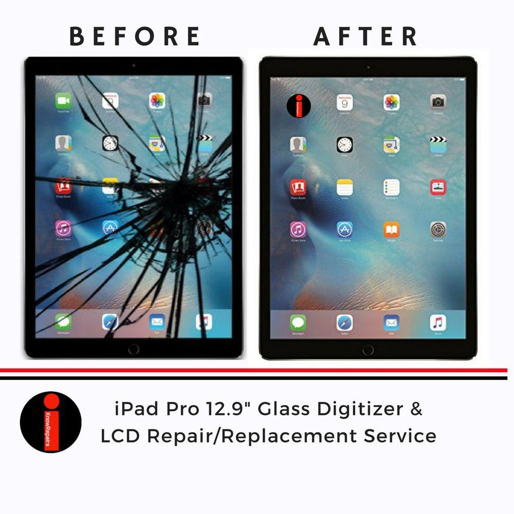 iPad Pro 12.9 LCD & Glass Digitizer Repair Replacement