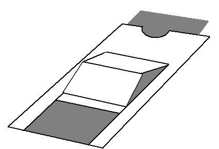 Template And Tutorial Sliding Window Card Card Making Tutorials Card Making Techniques Fun Fold Cards