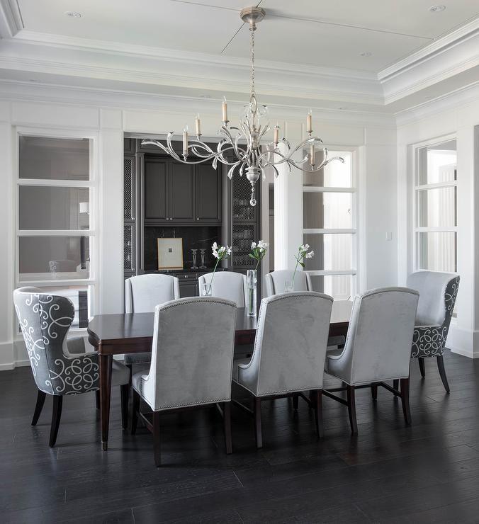 White Velvet Dining Chairs