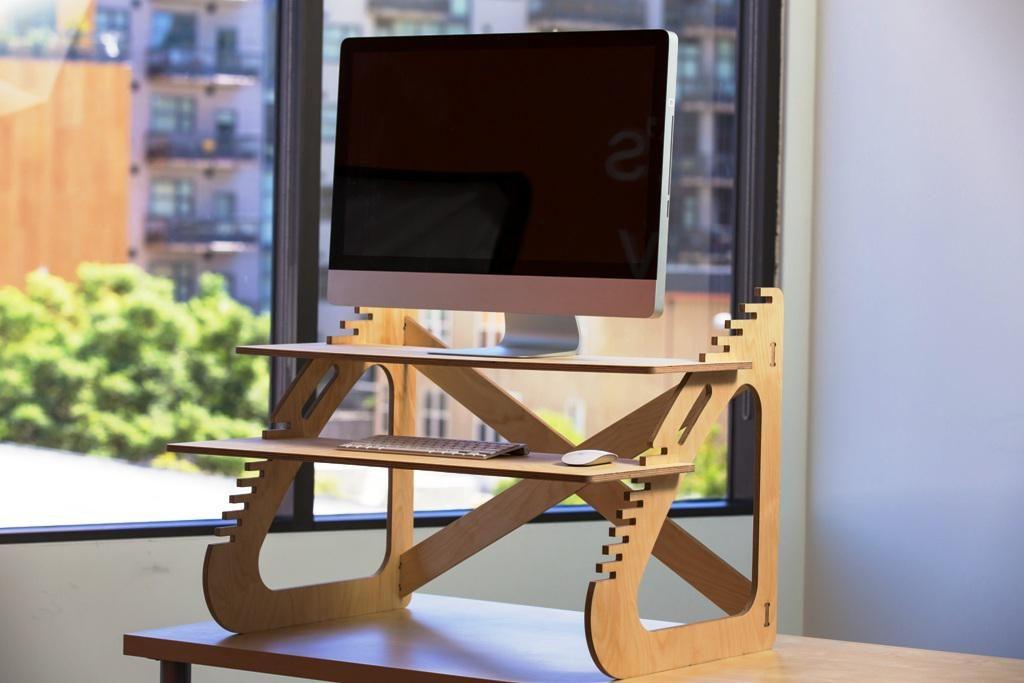 Architecture DIY IKEA Standing Desk Home Decor Best Stand ...
