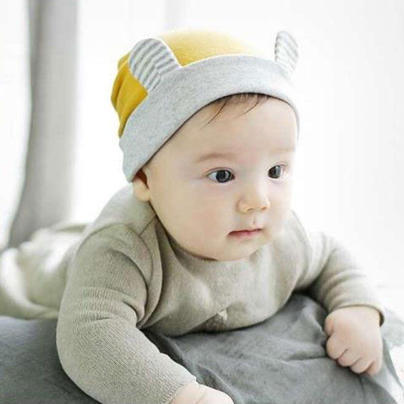 f09d3e560803a Click to Buy    Boy Girl Ears Hat Cute Baby Cap Wholesale Baby Hats Baby  Skullies Baby Beanies  Affiliate