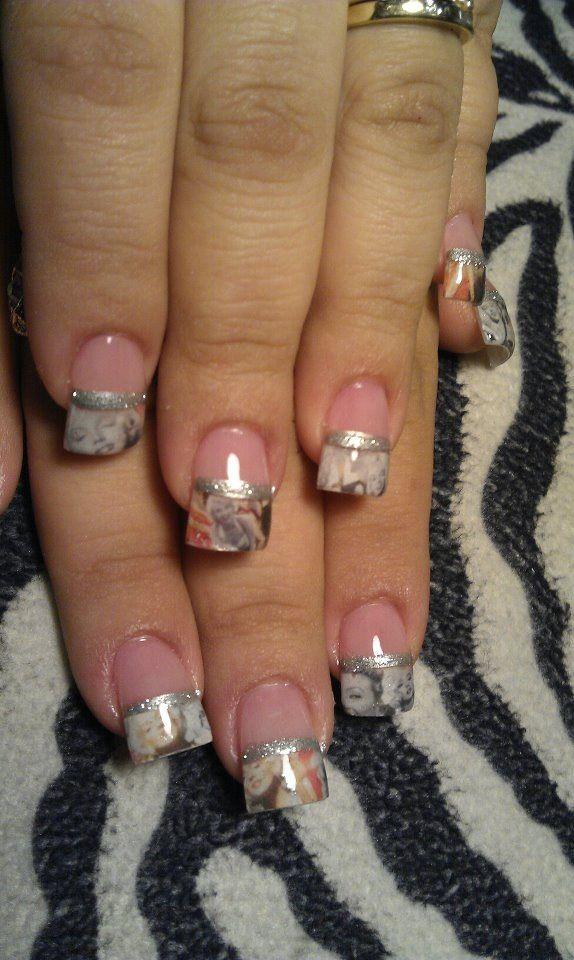 Marilyn monroe nails | Artistic | Pinterest | Manicure